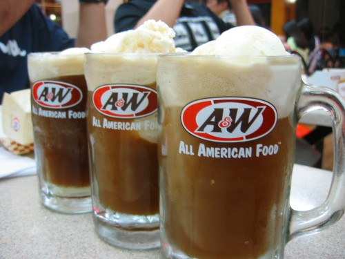 Having a root beer float every once now-and-then means you NEVER have to grow up!