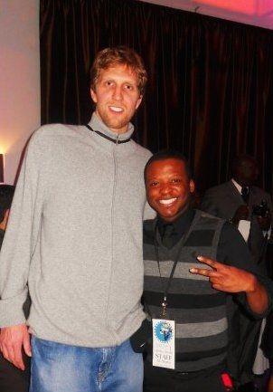 Dirk Notwitzski and Devin Smith, Dallas Mavericks All-Star Game Pre-Party, 2010